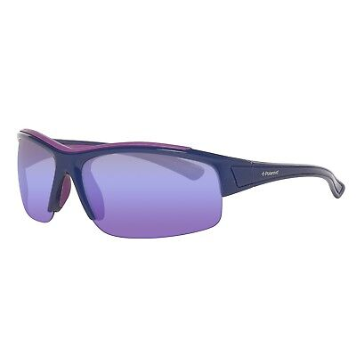 Polaroid Sunglasses Polarised PLS7003/S JGX Purple Purple Mirror