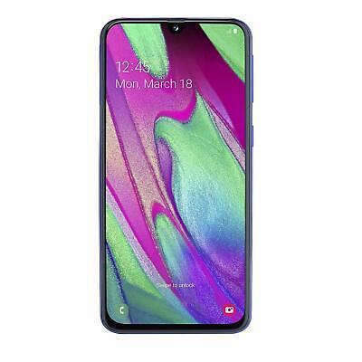 """Samsung Galaxy A40 (2019) Smartphone, Blu, Display 5,9"""" 64 GB Esp.Dual Sim Brand"""