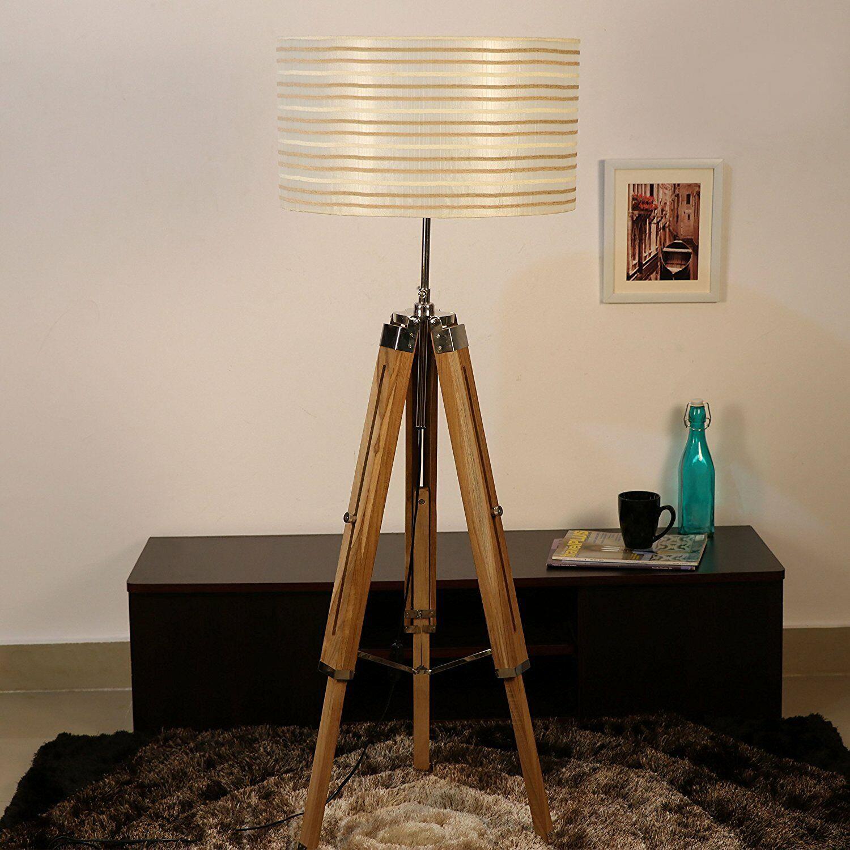 Tripod Stand Floor Lamp Light