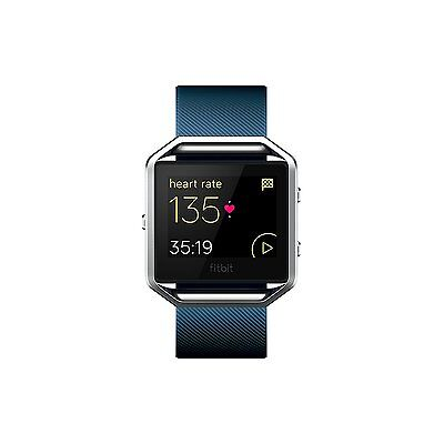 Fitbit  Blaze Smart Fitness Watch (Large) Blue New Factory Sealed * FREE SHIP
