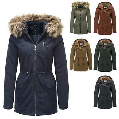 Only Damen Parka Winterjacke Kurzmantel Wintermantel Günstig Angebot SALE % Mantel Wintermantel