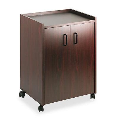 - Safco Mobile Refreshment Center One-Shelf 23w x 18d x 31h Mahogany 8953MH