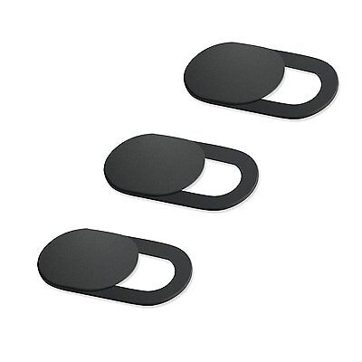 Webcam Cover 0.03in Ultra Thin 3 Pack, iRush Web Camera Cover for Laptop PC UWK