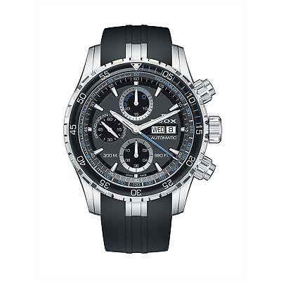 Edox 01123 3BUCA NBUN Men's Grand Ocean Black Automatic Watch
