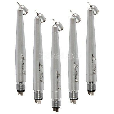5nsk Style Dental Surgery 45 Degree High Speed Handpiece Push Button 4-hole Ya