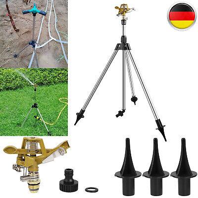 Rasensprenger Impulsregner Kreisregner Teleskopstativ Gartensprenger Sprinkler