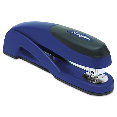 Swingline Optima Full Strip Desk Stapler 25-sheet Capacity Metallic Blue 87802