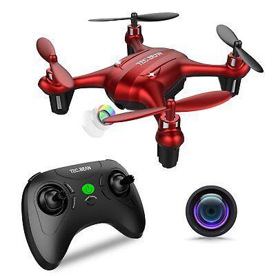 TEC.BEAN Sparrow GD90-C Mini Beginner Drone 720P HD Camera + inc 4 batteries