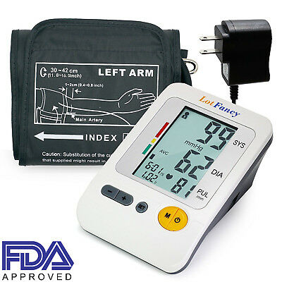 Blood Pressure Monitor Machine Gauge Sphygmomanometer Large BP Cuff For Home Use