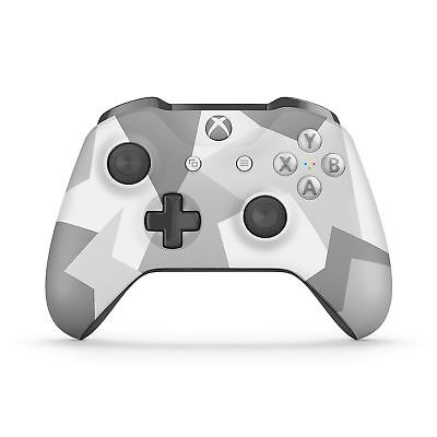 Microsoft Wl3 00043 Xbox One Wireless Controller   Winter Forces Special Edition