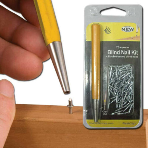 Fast Cap Blindnailkit Double-ended 3/16inch x 3/8-inch Blind Nail Kit, 100 Nails