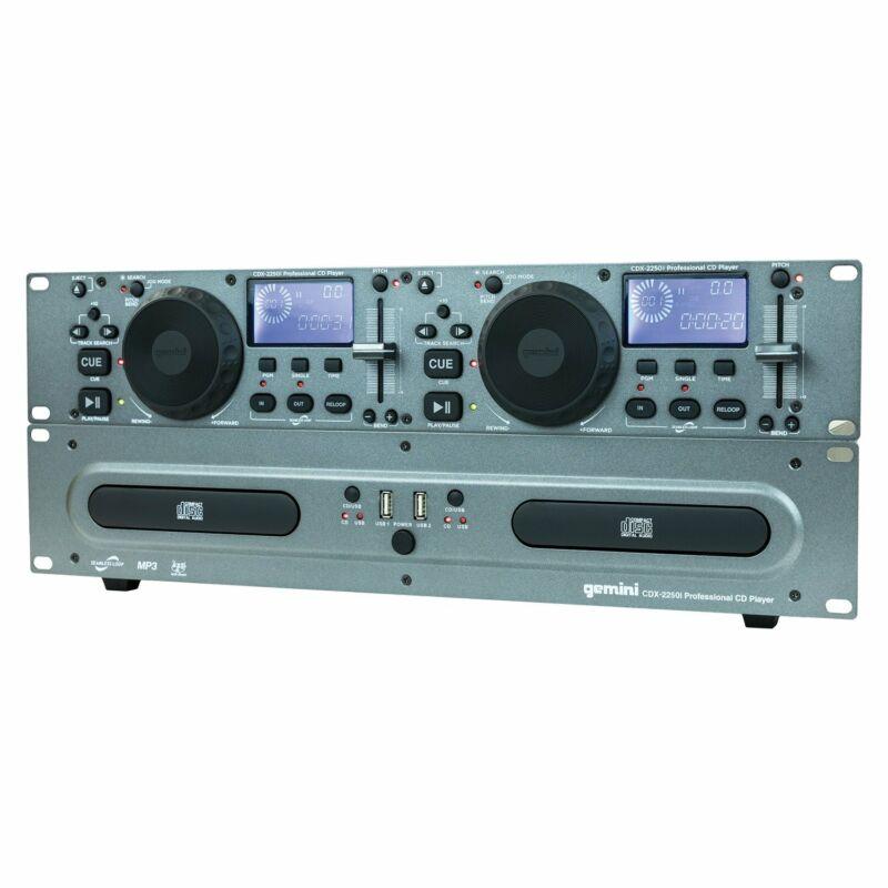 Gemini CDX-2250I DJ CD Media Player with USB