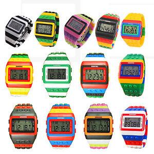 SHHORS-de-pulsera-de-nino-LED-impermeable-de-multifuncion-de-arco-iris-Reloj-P7