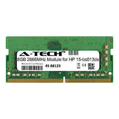 A-Tech 8GB 2666MHz DDR4 RAM for HP 15-bs013dx Laptop Notebook Memory - Memory Upgrades Notebook Ram