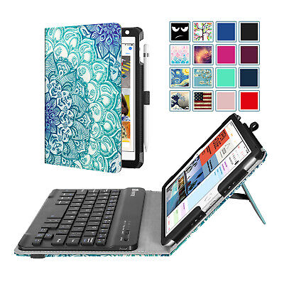 For New iPad Mini 5th Gen 2019 Folio Case Cover Stand with Bluetooth Keyboard