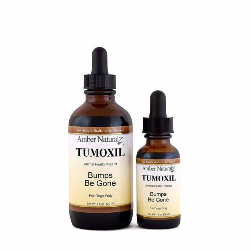 "Amber Naturalz Tumoxil ""Bumps Be Gone"" Organic Skin Detox for Canines 1 oz."
