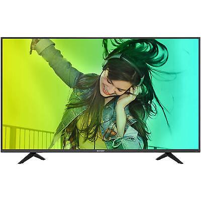 "Sharp LC-43N6100U 43"" 4K UHD ""upconverting"" 2160p 60Hz LED Smart HDTV (4K x 2K)"