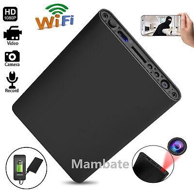 5000mAh Power Bank Mini WIFI 1080P HD Spy Hidden IP Camera Video Recorder Cam