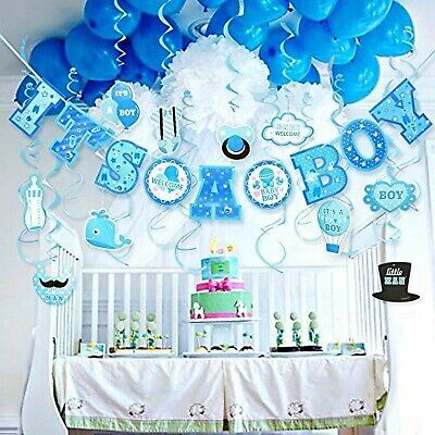 Lucky Party Baby Shower Decorations for Boy It's A BOY Baby Shower Decorations](Boy Baby Shower Decor)