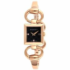 Gucci YA120521 Women's Tornabuoni Gold-Tone Quartz Watch