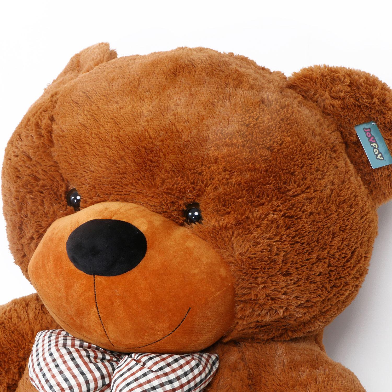 "Joyfay® 91"" 230cm Giant Teddy Bear Huge Brown Plush Toy Valentine Gift"