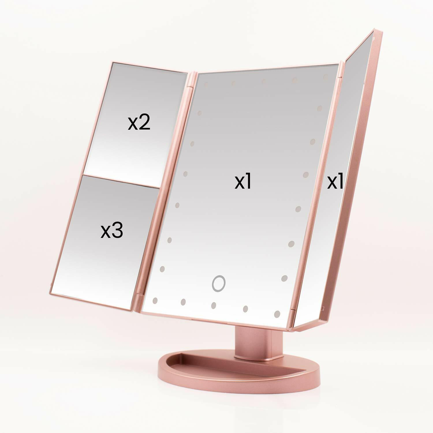 Vanity mirror with lights LED Makeup mirror Magnifying mirro