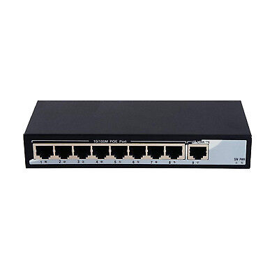 8 Port PoE Network Switch (10/100Mbps, All PoE) for sale  Ireland