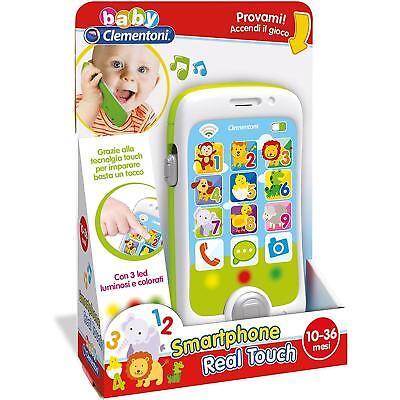 Smartphone Telefono Bimbo Primi Giochi Clementoni 3 Attività Interattive Tasti