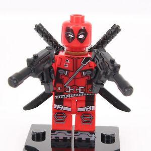 Deadpool Marvel Universe Mini Figure Fits Lego -NEW!-