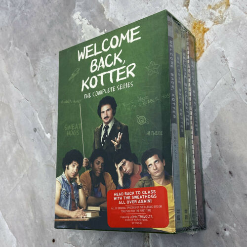 Welcome Back Kotter: The Complete Series (DVD, 2014, 16-Disc Box Set) Brand New