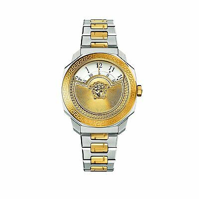 Versace VQU040015 Women's Dylos Icon Two-Tone Quartz Watch