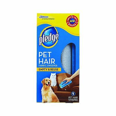 Pledge Fabric Sweeper for Pet Hair Dog Cat Hair Remover Reusable - Discontinued
