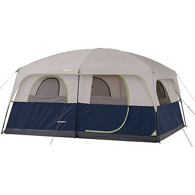 Ozark Trail 10 Person 2 Room Family Cabin Tent Red