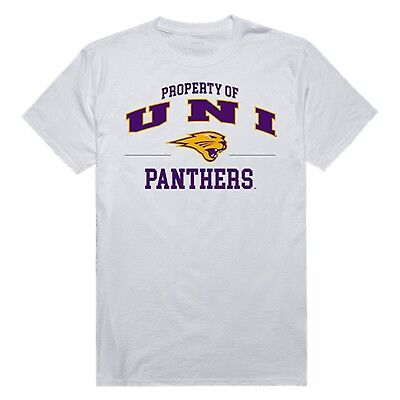 University of Northern Iowa Panthers UNI NCAA College Cotton Graphic T Shirt ()