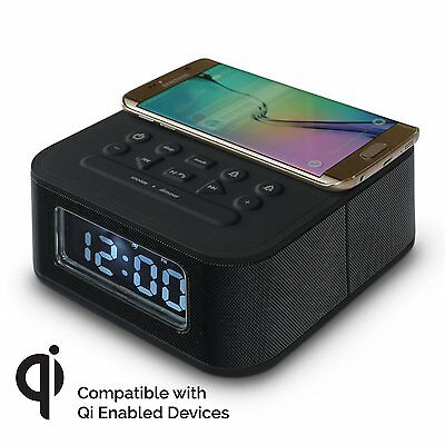 Wireless Phone Charging Alarm Clock Dock & Speaker DreamQi Voltnow
