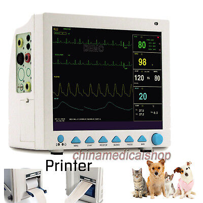 Veterinary Icu Vital Signs Patient Monitor 6 Parameters Contec Free Printer Usa