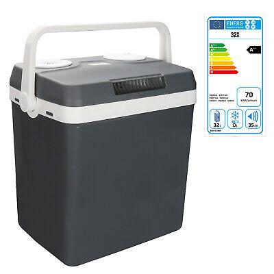 Elektrokühlbox thermobox warmhaltebox wärmebox camping picnic box 12v//220v 32l