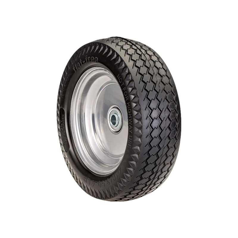 SLT Gdpodts 4.10/3.50-4LP Flat Free Foam Replacement All Purpose Utility Tire