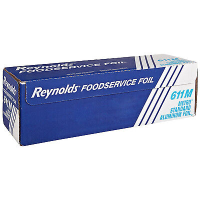 Pactiv Reynolds Standard Economy Aluminum Foil Roll Sliver 1000 L X 12 W