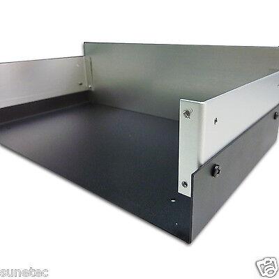 "SV1263 12/"" Full Aluminum Project Enclosure Instrument Case Electronic Box"
