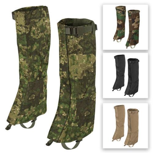 HELIKON TEX Long Gaiters Waterproof Walking Outdoor Adventure Tactical Military