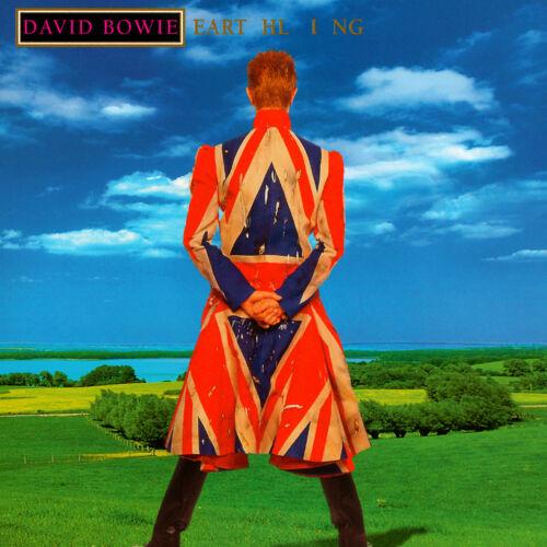 David Bowie Earthling 12x12 Album Cover Replica Poster Gloss Print