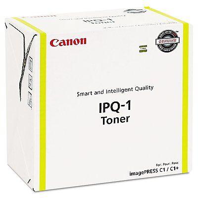 Imagepress C1 Yellow Toner - New ! Genuine Canon Imagepress C1 C1+ Yellow Toner IPQ-1 Toner 0400B003AA