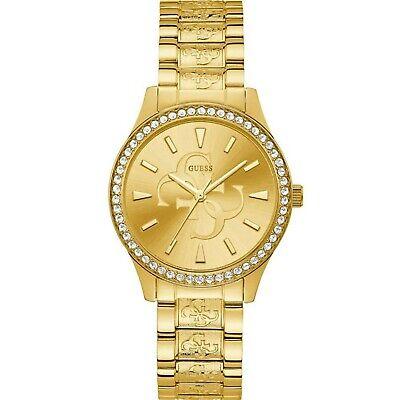 Guess Ladies Anna Women's Quartz Gold Tone Stainless Steel Watch W1280L2