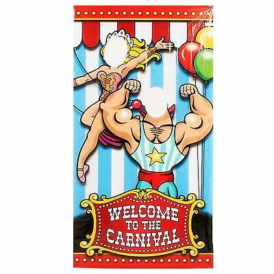 Under the Big Top Photo Door Banner Carnival Party Decoration Photobooth](70 Decorations)