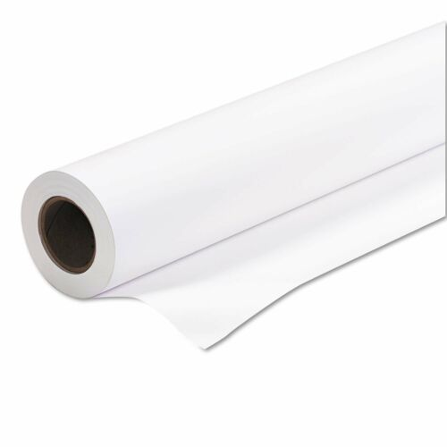 "Roll of White Bond Plotter Paper 63"" X 200"