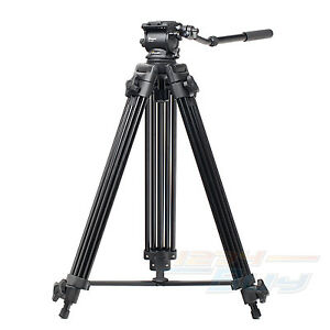 New-61-6KG-Load-Universal-Fluid-Head-Professional-Video-Camera-Camcorder-Tripod