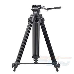 New-61-6KG-Load-Universal-Fluid-Head-Professional-Video-Camera-Camcorder-Tripod