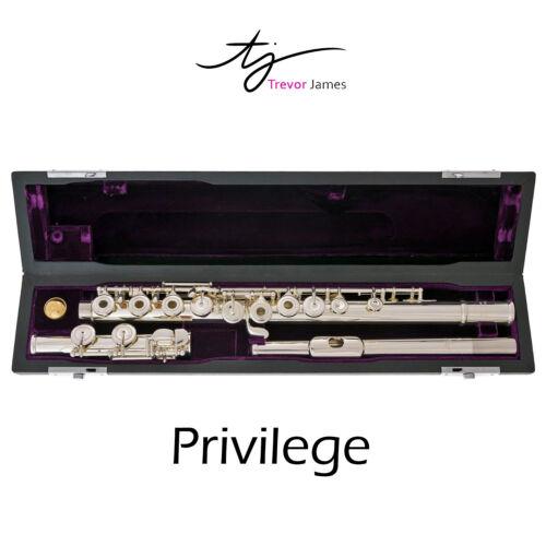 Trevor James Privilege Flute | C-Foot | Offset G | Spit E Mech | Silver Lipplate