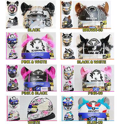 Helmet Cat Ears Parts Stick On Horns The Motorcycle Bike Ski Headwear Apparel